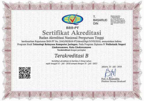AKREDITASI-TRKJ-B-2018
